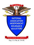 claims, naiia, independent adjusters