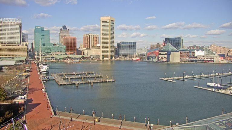 baltimore, webcam, inner harbor, claims